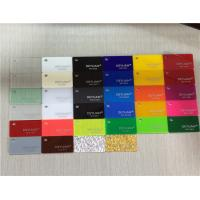 Orange Yellow Extruded Coloured Plexiglass Acrylic Sheet Thickness 1mm - 500mm Manufactures