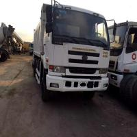 WHITE COLOR 6X4 10TYRES JAPAN USED UD NISSAN DUMP TRUCK 15CBM CAPACITY ,SECOND HAND NISSAN DUMPER TRUCK FOR SALE Manufactures