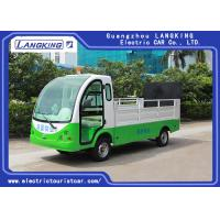 1.2 ton Electric carbage collection car /Tourist Use Electric Utility Carts ,  2 seats 90km for range with door Manufactures