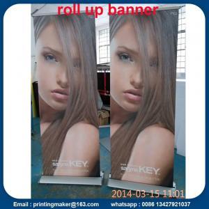 85x200cm Luxury Aluminum Retractable Banners Manufactures