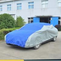 China waterproof full size automotive Outdoor Car Covers with 4 layers non - woven on sale