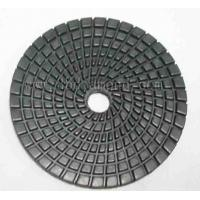 best quality 4inch/100mm Hexagon dry diamond polishing pad for granite Manufactures