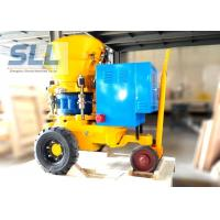 China Swimming Pool Building Dry Shotcrete Machine Equipment Long Service Life on sale
