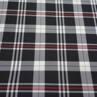 75D Polyester Yarn-dyed Lining Fabric, Used for Suit and Jacket Manufactures