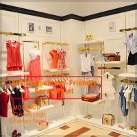 Newly come high end kids dress up metal clothing shelf Manufactures