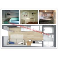 China Luxury Decoration Prefab House Mobile Modular House With Bathroom/Kitchen/Washbasin/Bedroom For Sale on sale