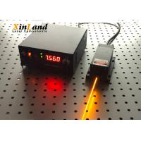 589nm High Output Solid State Laser , Yellow Light Source DPSS Laser Module Manufactures