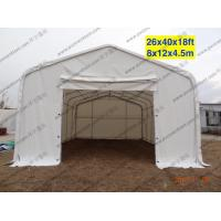 White Waterproof PVC Canopy Tent AC System Temporary For Outside Patry / Tempporary Military Tent Manufactures