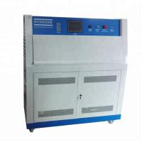 China Uv Accelerated Aging Test Machine Touch Screen Uv Lamp Accelerated Weathering Tester on sale