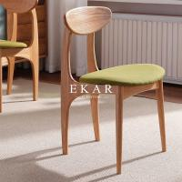 China Modern Dining Room Furniture Solid Wood Dining Chair FL-F128 on sale