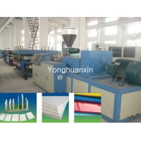 PVC celuka foam board extrusion machine Manufactures