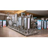 China Pressurized Water Decoction Tank For Hemp / Lab Extraction And Concentration System on sale