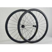 38mm Tubular Carbon Road Bike Wheels Less Affected By Crosswinds WH-RT38S Manufactures