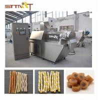 China SS Single Screw Food Extruder , Automatic Pet Food Processing Machinery on sale