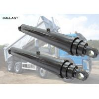 One Acting Telescopic Hydraulic Cylinder Agricultural Farm Truck Chrome Plating