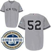 China MLB Jersey New York Yankees # 52 C.C.Sabathia Gray Jersey on sale
