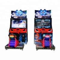 China 110V / 220V Racing Arcade Machine Coin Operated For 5 - 12 Years Old Kids on sale