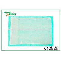 Customized Disposable Bed Sheets Nonwoven Fabric Pillow Cover , CE / ISO Approved Manufactures