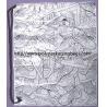 Promotional CPE /LDPE Plastic Drawstring Backpack Single Shoulder for sale