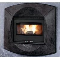 Modern Style Insert Wood Burning Stove Self Cleaning 75 / 80mm Smoke Outlet Manufactures