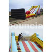 5m High Inflatable Zorb Ball Slope ,Inflatable Track For Zorbing Ball for sale