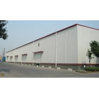 Q345B Structural Steel Warehouse For Logistic With Alu. Window And Rolling Door Manufactures