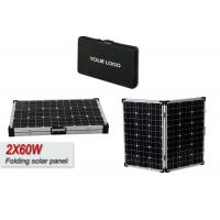 80W Foldable Solar Panel With USB Voltage Controller Solar Powered Laptop Charger  Manufactures