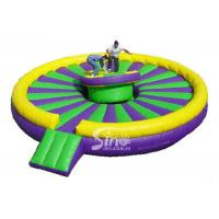 5.5m diameter giant blow uo round Inflatable Joust Arena For kids and Adults Interactive Fun Manufactures