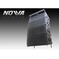 "Double 10"" Line Array PA Speaker System Durable For Outdoor / Indoor Manufactures"