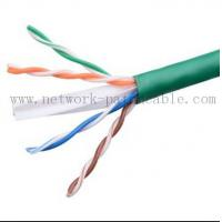 China Green Lan Cable Ethernet CAT6 UTP Cable Cat 6 Plenum Rated Cable wholesale