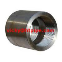 duplex stainless ASTM A182 F63 threaded half coupling Manufactures