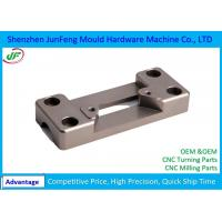 Metal Machined Parts 100% Full Inspection Quality Control , Cnc Spare Parts Manufactures