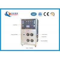 Movable FRLS Testing Instruments , Cable Integrity Flammability Testing Equipment Manufactures