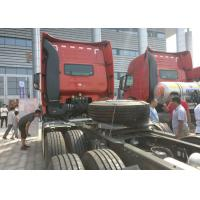 290HP Prime Mover Truck 30 - 40 Tonne Load Left Hand Drive 80R22.5 Tire Manufactures