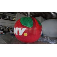 B1 Fireproof PVC Apple Fruit Shaped Balloons With Full Digital Printing 3m