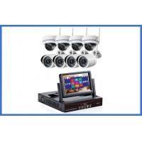 China Wireless IP Kit 8 Channel CCTV Surveillance Camera Touch-key Front Pannel on sale