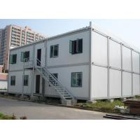 Two Storeys Detachable Container House Anti Seismic 5.95m * 3m * 2.8m Size Manufactures
