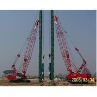 High Rigidity Durable Hydraulic Crawler Crane Light Weight 242kw 254t Manufactures