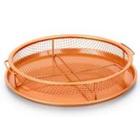 As seen on TV Air Fryer copper crisper chef baking tray set copper basket gotham copper bakeware Manufactures