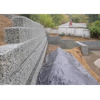 Architectural Retaining Wall Gabion Baskets , Mild Steel Gabion Rock Cages Manufactures