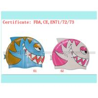 kids cartoon swimming cap Manufactures