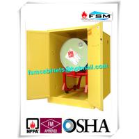 Horizontal Petrol Drums Storage Cabinets Double Door For Storing 55 Gallon Drum Manufactures