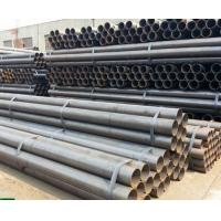 A53 / ASTM 5L Round Hollow Steel Pipe , Seamless Boiler Tubes High Frequency Welded Manufactures