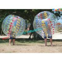 China Colorfully Soccer Human Bubble Ball Body Zorb Ball for Childrens and Adults on sale