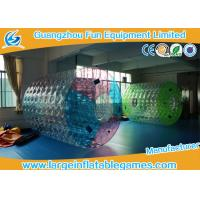 Customized TPU Amazing Inflatable Water Roller Amusement Park Ball Manufactures
