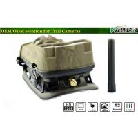 China SIM Card Cell Phone Trail Camera , Special Designed Wide Angle With MMS / GSM / SMTP on sale