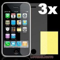 China Anti-fingerprint Screen Protector for 3g,PET Material on sale
