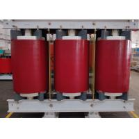 Red 160 KVA Dry Type Transformer Low Partial Discharge IEC60076 Standard Manufactures