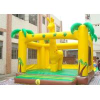Deer Style Inflatable Bouncer , Durable Adult Jumpers Bouncers For Outdoor Manufactures