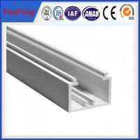 Quality YueFeng china factory white powder coated aluminium channel price per kg for sale